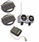 Parabeam 600-P - Pocket Receiver Driveway / Perimeter Alarm. Reliable, solar recharging point-to-point security beam.
